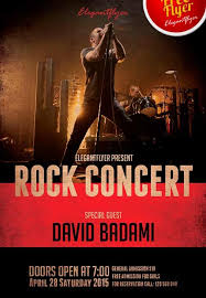 band flyer generator free concert flyer templates rock photoshop template city poster