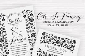 Wedding Invitation Set Templates 90 Gorgeous Wedding Invitation Templates Design Shack
