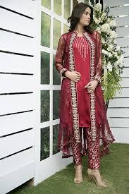 Pakistani Designer Dresses In Toronto Pakistani Designer Dresses Lowest Prices Maroon