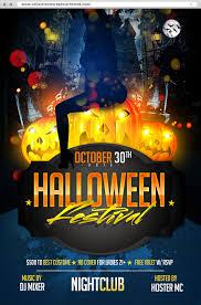 Free Halloween Flyer Templates Photoshop Bigpreview Horror Halloween