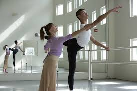 geta constatinescu working with a miami city ballet student photo by pavel antonov courtesy miami city ballet