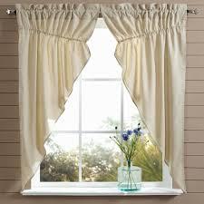 farmhouse chambray prairie curtains