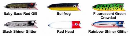 Heddon Lucky 13 Color Chart Heddon Lucky 13 Fishing Lure All Sizes Colors Available