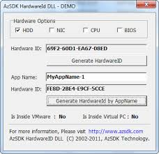 Number Best Unique - In Hardwareid Hdd Cpu Bios Nic software Of Azsdk Get Serial Dll The Your Program