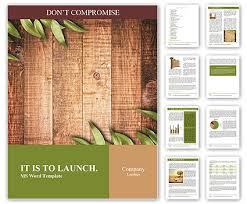 Background Templates For Word Green Leaves On The Old Wooden Background Word Template