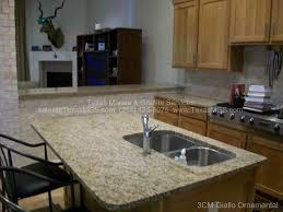 Kitchens With Giallo Ornamental Granite Kitchen And Bathroom Countertop Gallery