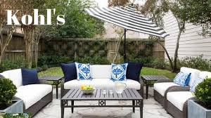 off kohl s patio furniture clearance