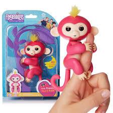 Fingerlings - Interactive Baby Monkey--Pink Bella [BPS020] - $24.98 ...