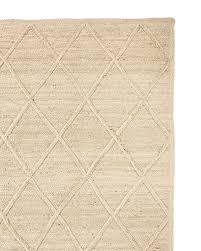 diamond jute rug swatch