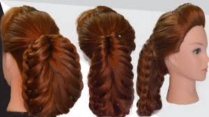How Todo Hair Style how to do easy and simple party hairstyle party hairstyle 7670 by wearticles.com