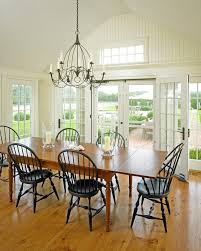 boston black candelabra chandelier dining room farmhouse with indoor outdoor living transitional chandeliers tongue and groove wall