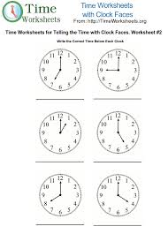 Telling time worksheet 2 | to the love of learning | Pinterest ...