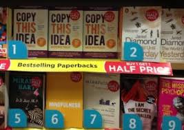 Wh Smith Paperback Chart Copy This Idea Straight Into 1 Chart Position In Wh Smith