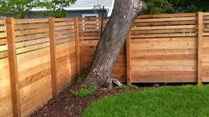 horizontal wood fence diy wood privacy fence diy horizontal wood fence panels
