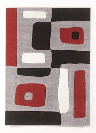 Contemporary Area Rugs Geo Red Medium Rug by Signature Design by