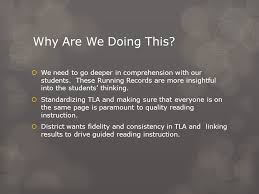 Fountas And Pinnell Instructional Level Expectations For Reading Chart Fountas Pinnell Benchmark Assessment System Training Ppt