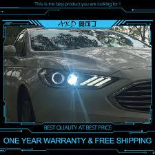 2017 Mustang Lights Us 600 0 20 Off Akd Tuning Cars Headlight For Ford Mondeo 2017 Mustang Headlights Led Drl Running Lights Bi Xenon Beam Fog Lights Angel Eyes In Car