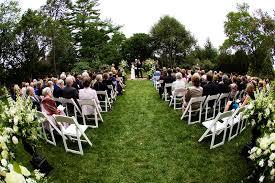 yew dell gardens outdoor wedding ceremony