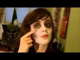 simple zombie makeup tutorial w normal makeup