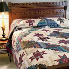 Traditional Quilt Patterns Awesome Conceived In Liberty Traditional Scrappy Civil War Bed Quilt