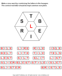 answer make words using letters t b e i r s l