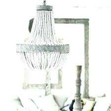 beaded chandelier pendant light wood bead country style retro hanging lime lamp shade classic style distressed gray wood beaded