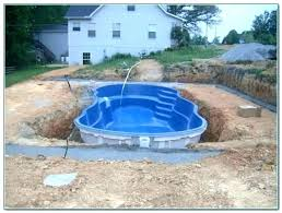 pool in ground kits small fiberglass reviews enclosure diy inground canada homemade to build a swimmi