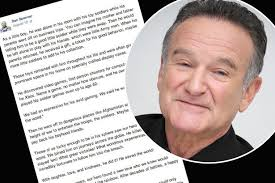 Husband Of PA Who Found Robin Williams' Dead Body His Final Mesmerizing Obscure Robin Williams Quotes