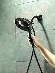 bronze handheld shower delta oil rubbed bronze shower head rain shower head delta oil rubbed bronze