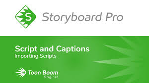 How To Import Scripts With Storyboard Pro - Youtube