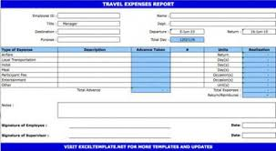travel expense template free travel expense report and claim form to download