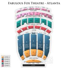fabulous fox theatre atlanta seating views