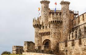 Resultado de imagen de castillo de ponferrada
