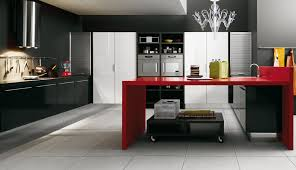 Kitchen Interior  SweetLooking Marble Island Thomasmoorehomescom - Kitchen interiors