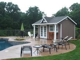 home pool bar. Pool House Bar Designs Custom Cabana With Outdoor Shed . Home Pool Bar  Residental Pools With