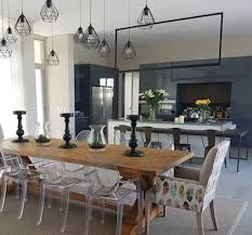 modern dining room furniture. Simple Room Copper U0026 Grey Tones Modern Dining Room By Sophistique Interiors In Modern Room Furniture