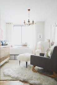 boy nursery with guest bed