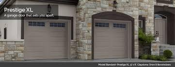 garage doors designs. Modren Doors Garaga Garage Doors  Model Standard Prestige XL 9u0027 X 8u0027 Claystone For Designs