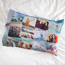 Design Your Own Pillowcase Custom Collage Photo Cushion Custom Pillow Cases With Photo Or Collage