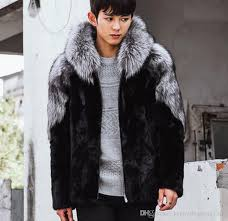 2018 xs 4xl mens parka faux fox fur lapel jacket hooded warm long coat peacoat thicken luxury new plus size maxi new furry youth from happyping1314
