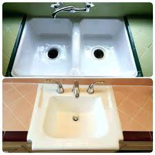 reglaze kitchen sink sink kitchen sink refinishing luxury best bathtub images on sink cost to refinish cast iron kitchen sink