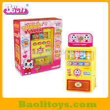 Kids Vending Machine Magnificent Plastic Automatic Vending Machine Toy For Kidsin Men's Costumes