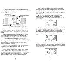 Dy517 Digital Manifold Gauge Refrigeration Pressure Tester Hvac 2 Way