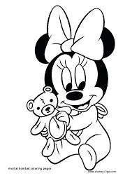Baby Mickey Mouse Coloring Pages Image Result For Baby Mickey