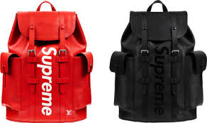 louis vuitton mens backpack. louis vuitton x supreme collaboration backpacks mens backpack m