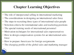 Roles Of A Sales And Marketing Manager Sales International Marketing Lecture Slides Docsity