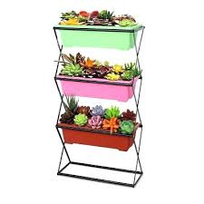 3 tier plant stand outdoor 3 tier folding plant stand outdoor garden planter flower pot stand