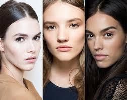 spring summer 2016 makeup trends natural no makeup look