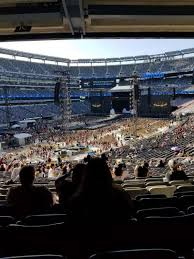 Ny Jets Stadium Seating Chart Metlife Stadium Section 121 Home Of New York Jets New