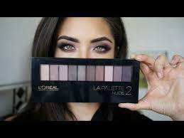 l oreal la palette 2 review eye makeup look melissa alatorre